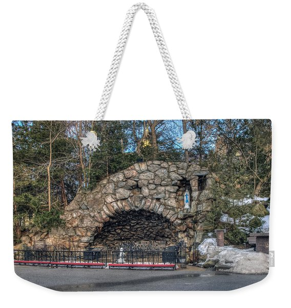 Grotto At Notre Dame University Weekender Tote Bag