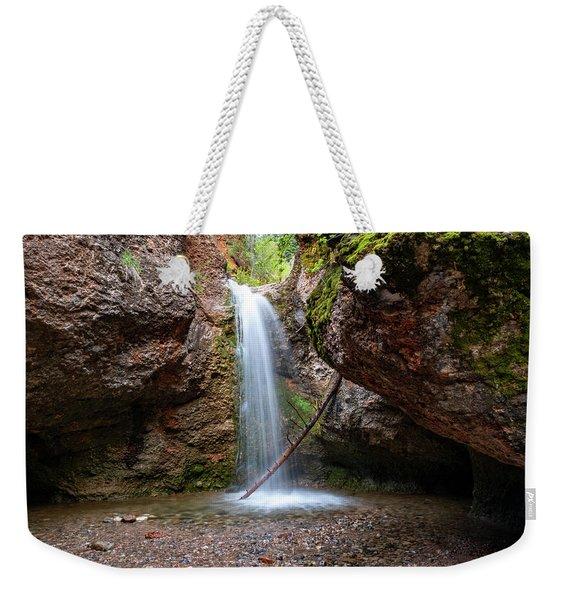 Grotto Falls Weekender Tote Bag