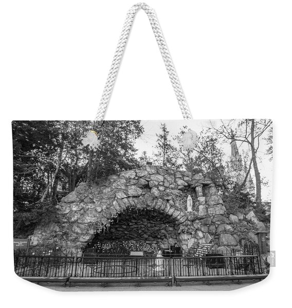Grotto Of Our Lady Of Lourdes 3 Weekender Tote Bag