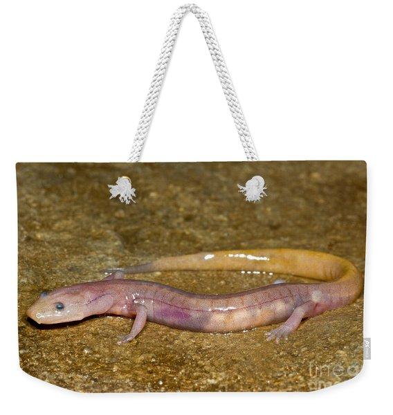 Grotto Salamander Weekender Tote Bag