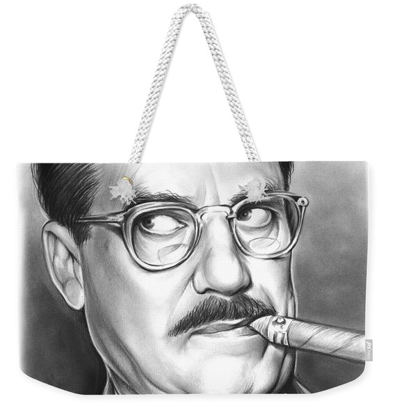 Groucho Marx Weekender Tote Bag