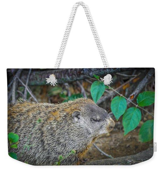 Groundhog Weekender Tote Bag