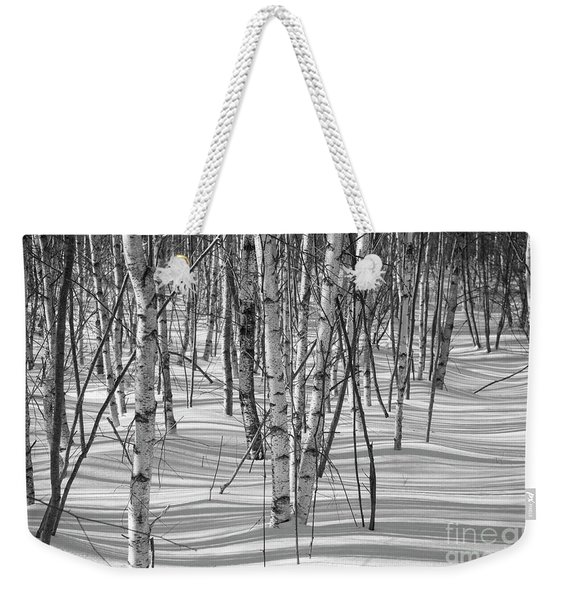 Group Of White Birches Weekender Tote Bag