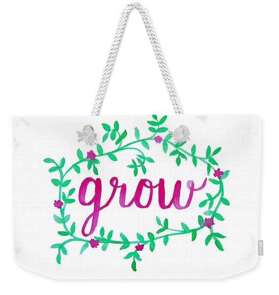 Grow Weekender Tote Bag