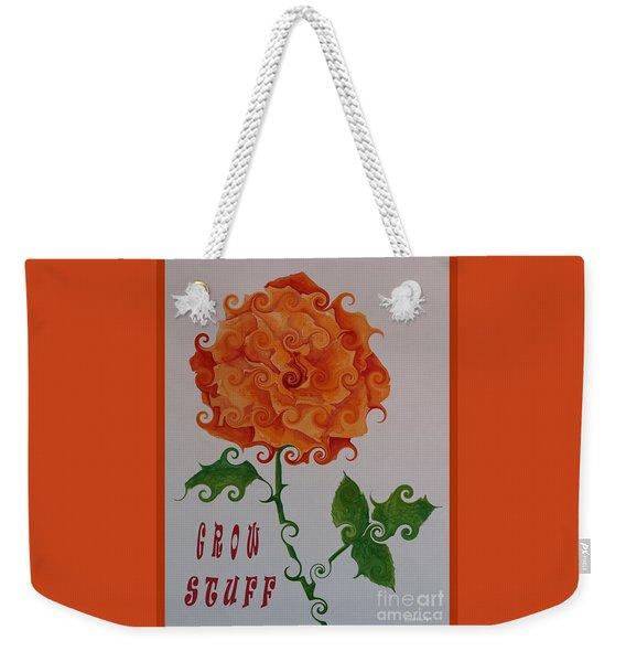 Grow Stuff Weekender Tote Bag
