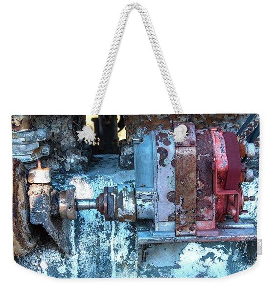 Grungy Engine Weekender Tote Bag
