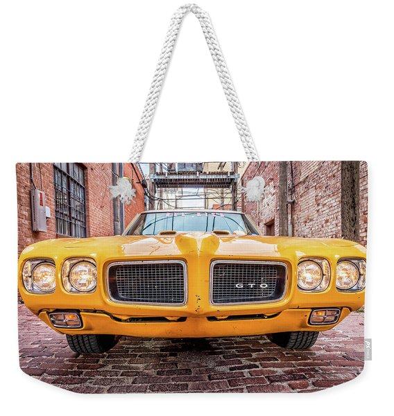 Gto - Pontiac Muscle Weekender Tote Bag