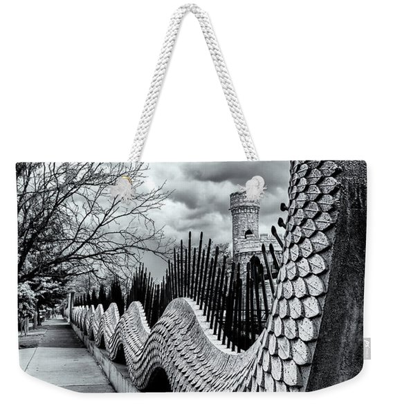Guading The Castle Weekender Tote Bag