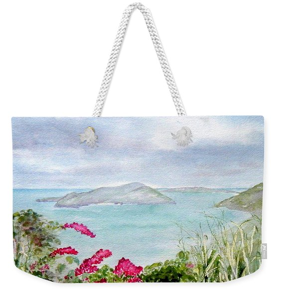 Guana Island Weekender Tote Bag