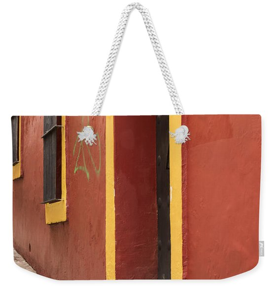 Guanajuato Mexico Colorful Building Weekender Tote Bag