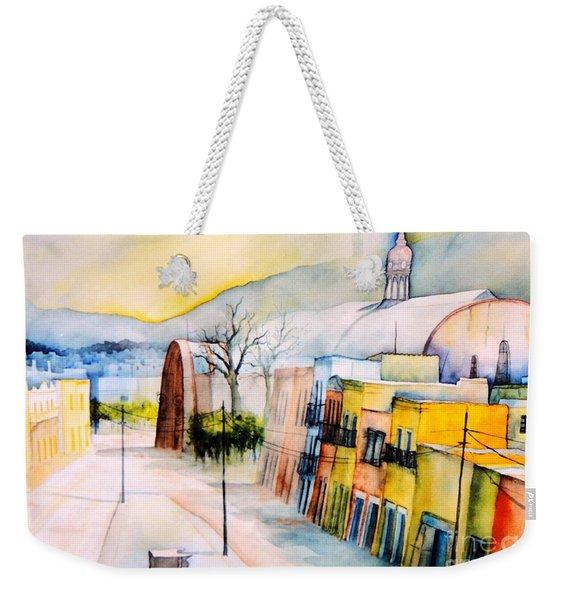Guanajuato-mexico-marketplace Weekender Tote Bag