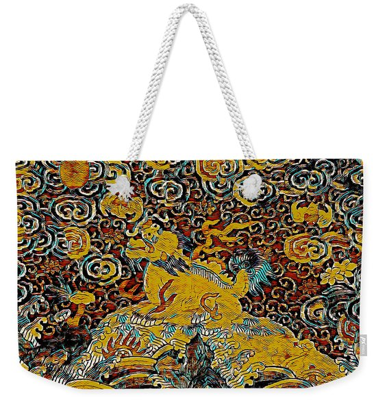 Guardian Of The Temple Weekender Tote Bag