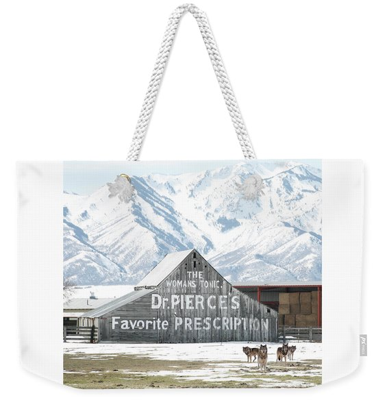 Guardians Of The Tonic Weekender Tote Bag