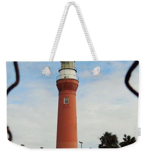 Guarding The Light Weekender Tote Bag