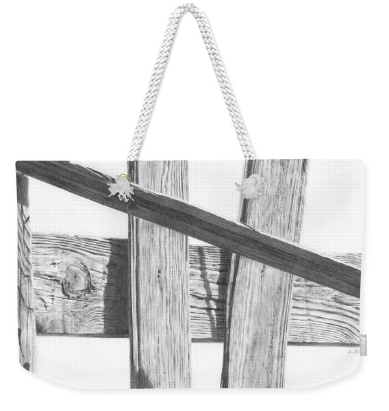 Guarding Time Weekender Tote Bag
