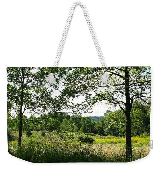 Beyound The Trees Weekender Tote Bag