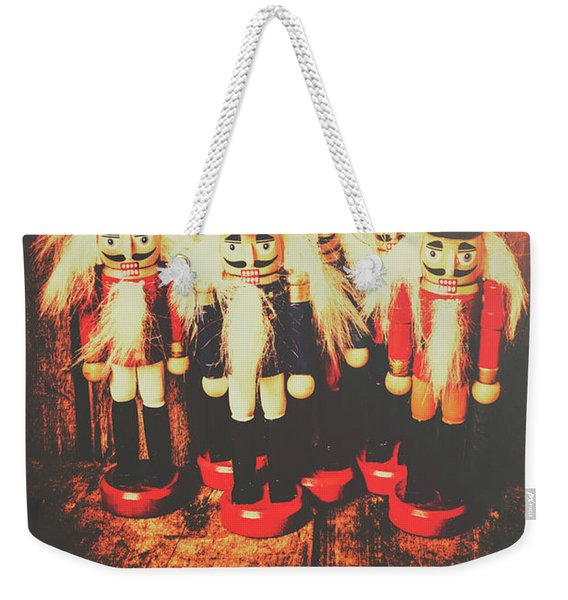 Guards Of The Toy Box Weekender Tote Bag