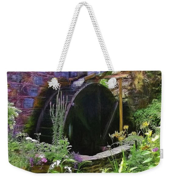 Guernsey Moulin Or Waterwheel Weekender Tote Bag