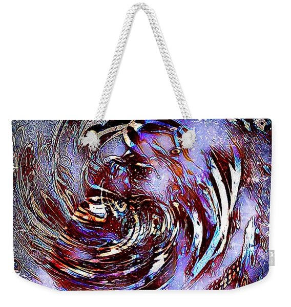 Guess Who Abstract Weekender Tote Bag