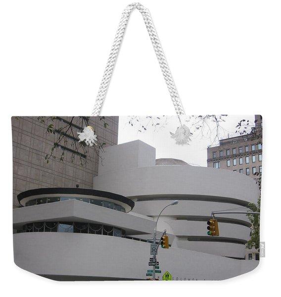 Guggenheim Complex Weekender Tote Bag