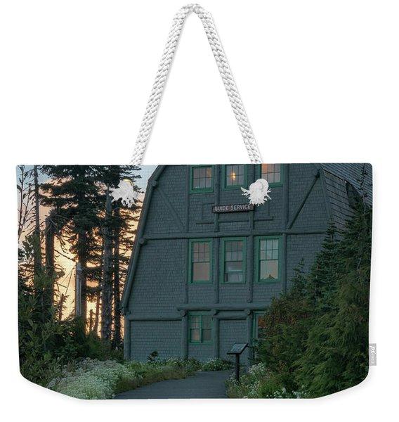 Guide House Weekender Tote Bag
