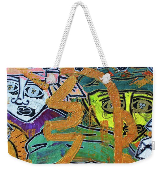 Guides And Guardians Weekender Tote Bag