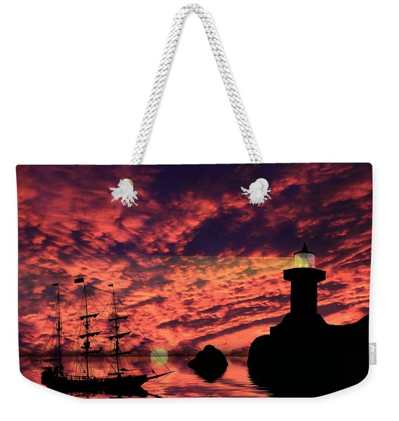 Guiding The Way Weekender Tote Bag