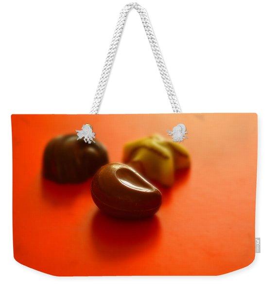 Guilty Pleasures Weekender Tote Bag