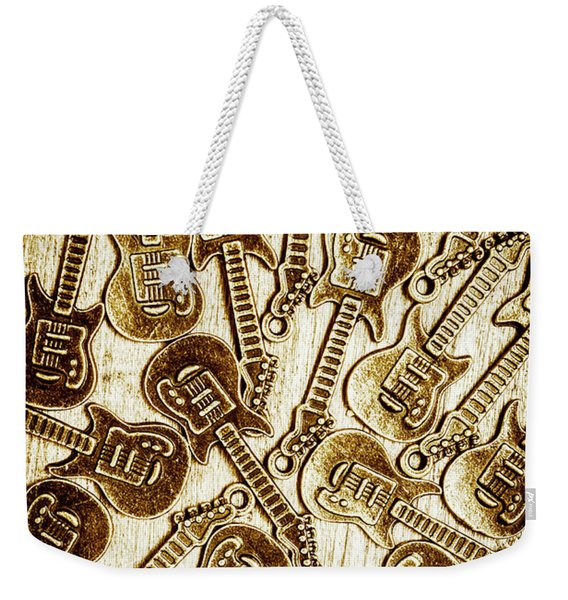 Guitar Echo Chamber Weekender Tote Bag