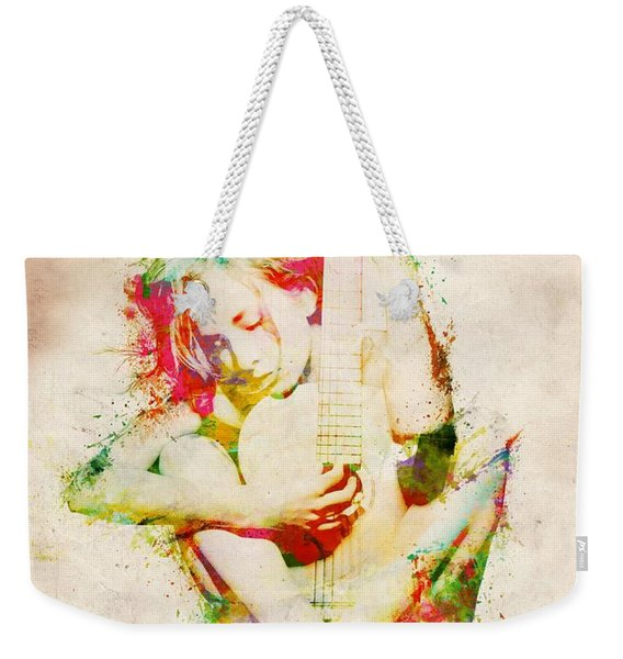 Guitar Lovers Embrace Weekender Tote Bag