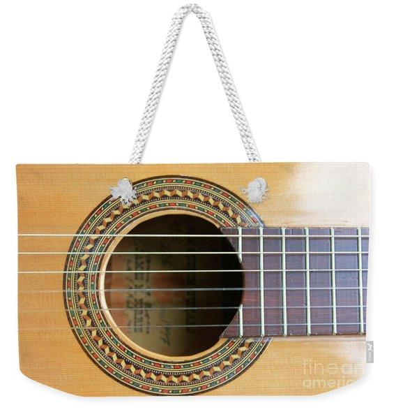 Guitar Rosette Weekender Tote Bag