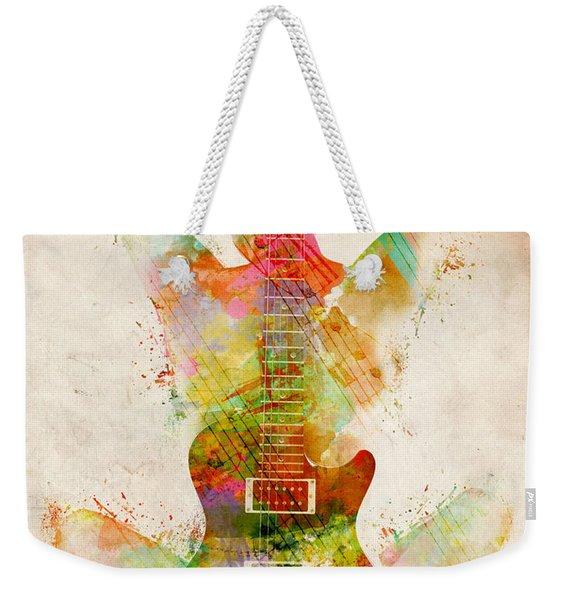 Guitar Siren Weekender Tote Bag
