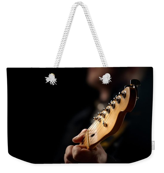 Guitarist Close-up Weekender Tote Bag