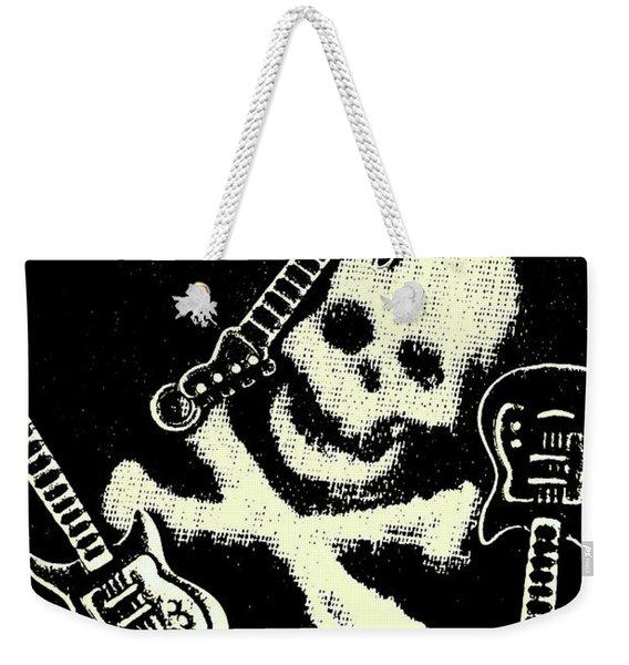 Guitars Of Black Metal Weekender Tote Bag