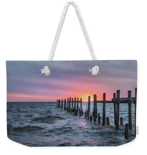 Gulf Coast Sunrise Weekender Tote Bag