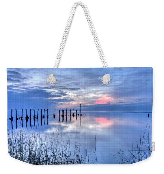 Gulf Reflections Weekender Tote Bag