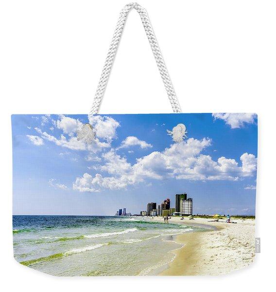 Gulf Shores Al Beach Seascape 1746a Weekender Tote Bag