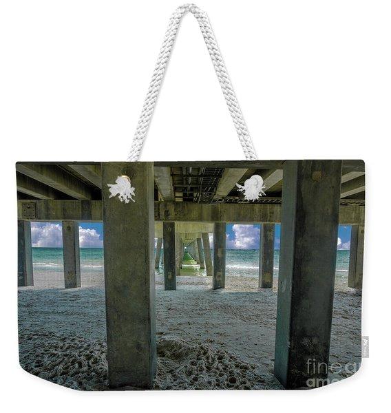 Gulf Shores Park And Pier Al 1649 Weekender Tote Bag