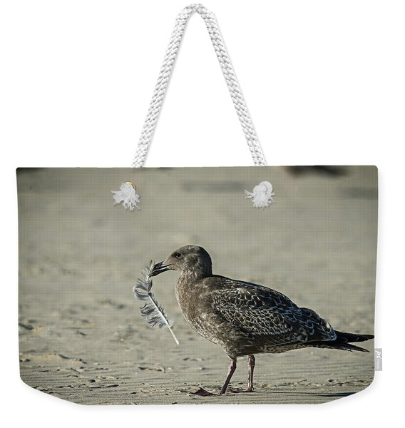 Gull And Feather Weekender Tote Bag