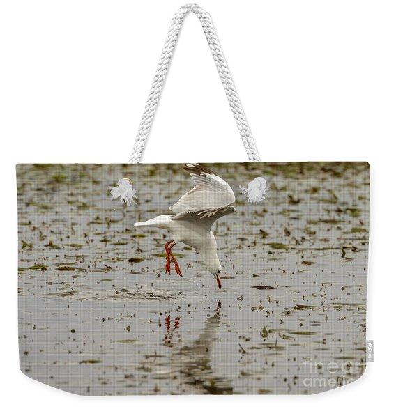 Gull Fishing 01 Weekender Tote Bag