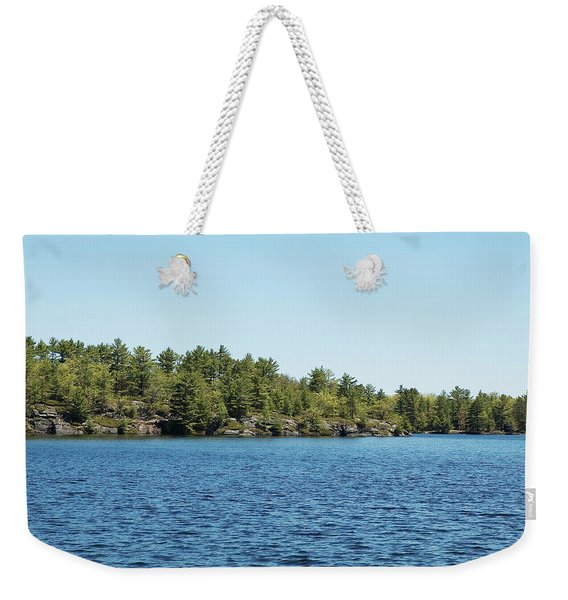 Gull Lake Weekender Tote Bag