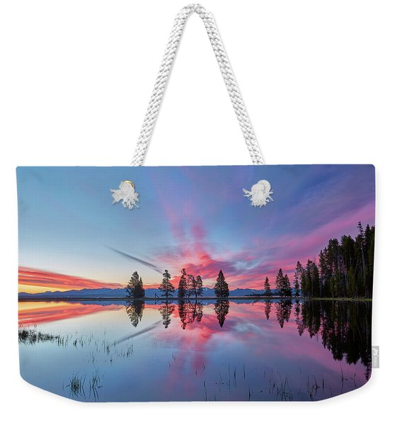 Gull Point At Sunrise Weekender Tote Bag