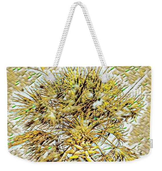 Gullah Palm Weekender Tote Bag