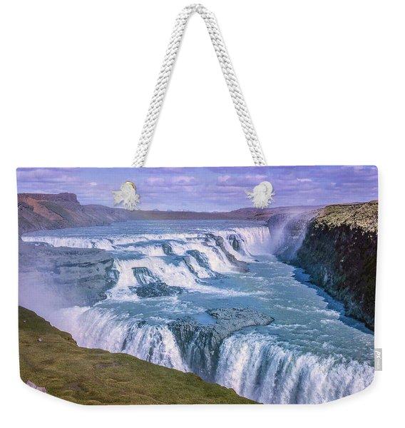 Gullfoss, Iceland Weekender Tote Bag
