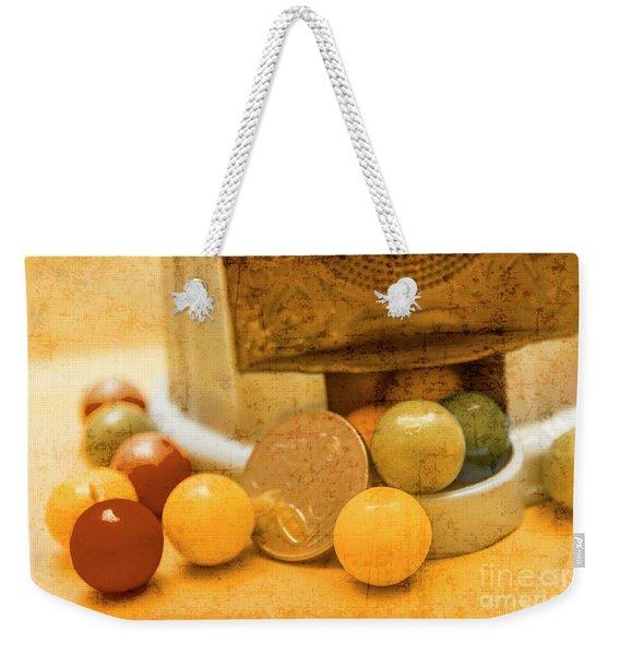 Gumballs Dispenser Antiques Weekender Tote Bag