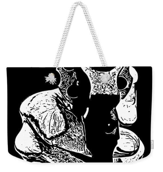 Gunman T-shirt Weekender Tote Bag