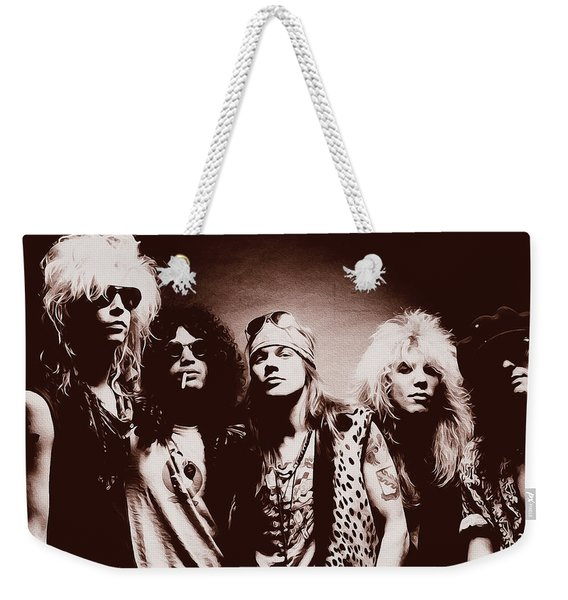 Guns N' Roses - Band Portrait 02 Weekender Tote Bag