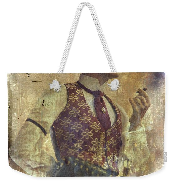 Gunslinger IIi Doc Holliday In Fine Attire Weekender Tote Bag