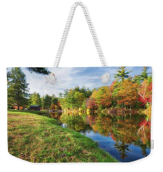 Gunstock Pond Weekender Tote Bag