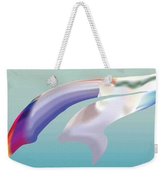 Guppyscape Weekender Tote Bag